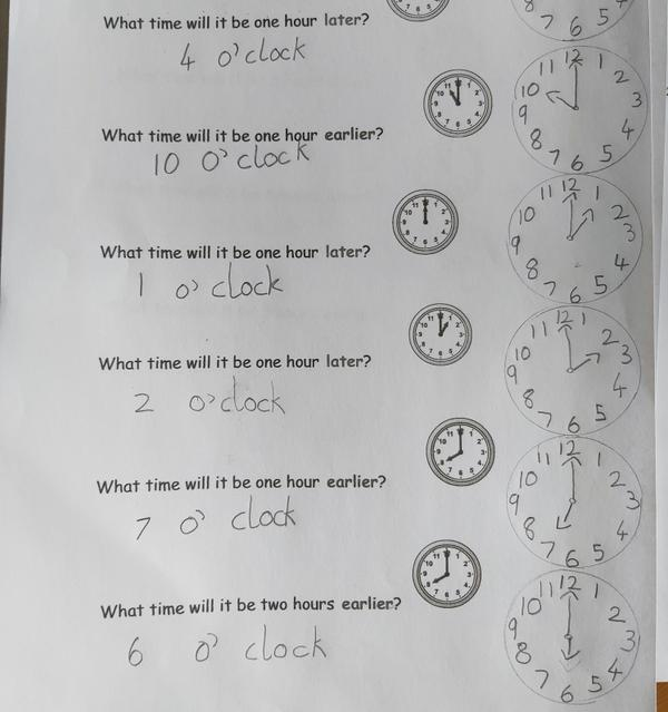Maths Example- Thank you for all your emailed work
