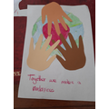 Super art inspired by Martin Luther King Jr.