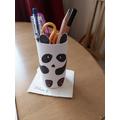 Another panda pencil pot :)