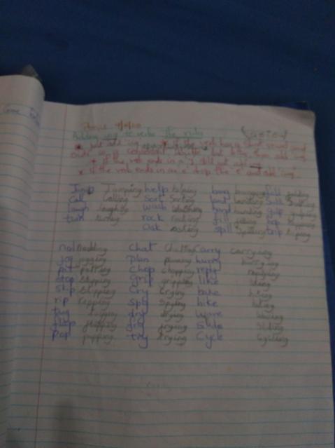 Home Learning Fun :)