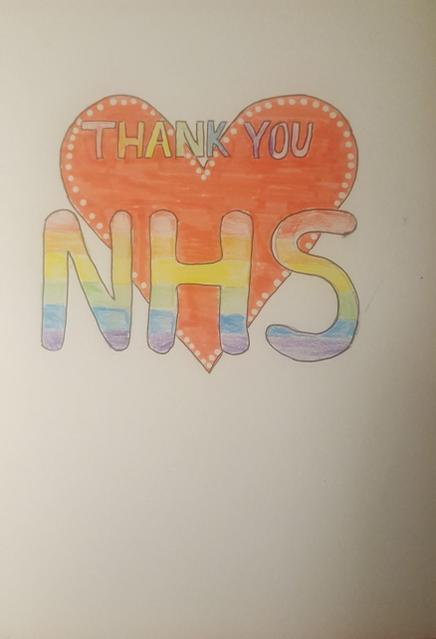 A special card for the NHS.
