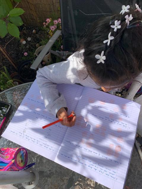 Maths in the sun