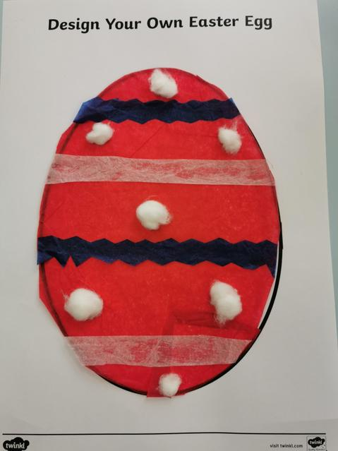 Miss Kent's decorated egg