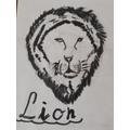 Brilliant lion art! :)