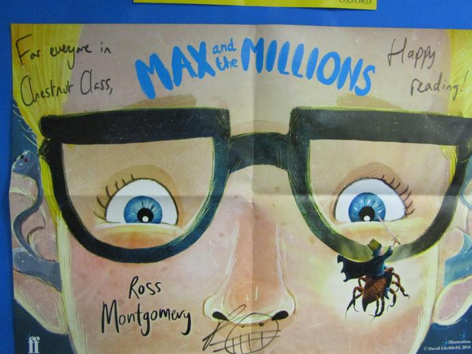 Max and the Millions by Ross Motgomery