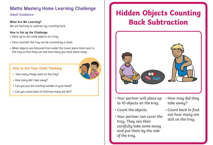 Subtraction Challenge