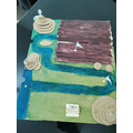 Model of the journey of a river