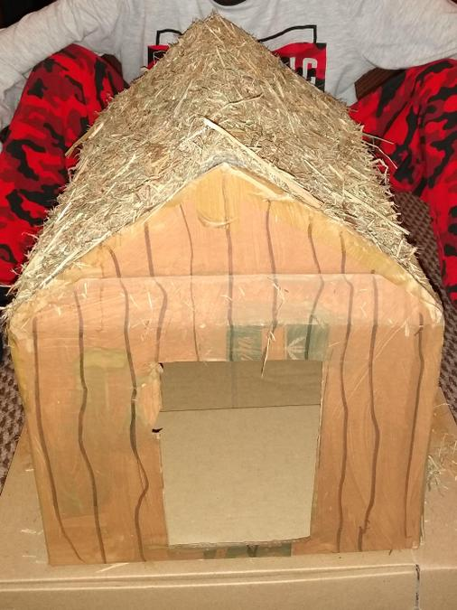 Anglo Saxon house by Daniel in 4H