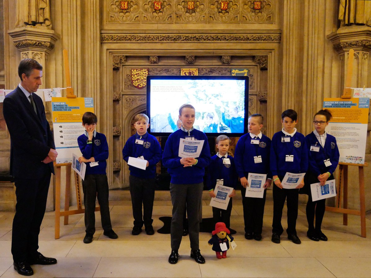 Holywell Pupils at the Houses of Parliament