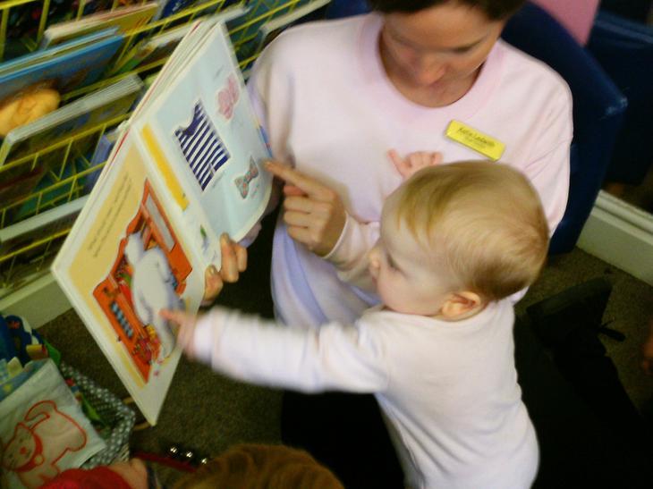 Enjoying literacy starts at any age!