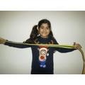 Sukhmani earned a belt in Taekwon-Do!