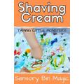 Mix shaving cream and paint