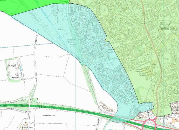 Homefields Catchment Area