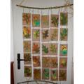 Print using leaves