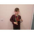 Harry has been very busy recently! Well done!