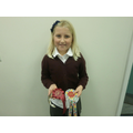 Sophie has earned fantastic medals in horse riding