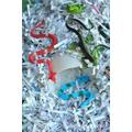 Animals in shredded paper