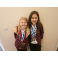 Meghan and Lillia show off their fantastic ...