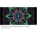 Watch kaleidoscope videos on Youtube