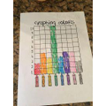 Find out your family and friends favourite colours and make a graph.