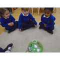 Everybody liked tasting the chocolate and the sugar. The coffee was much less popular!
