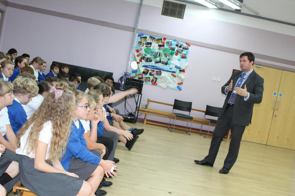 Kevin Foster MP: happy to answer and inspire