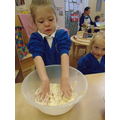 Making apple crumble in Foundation 1