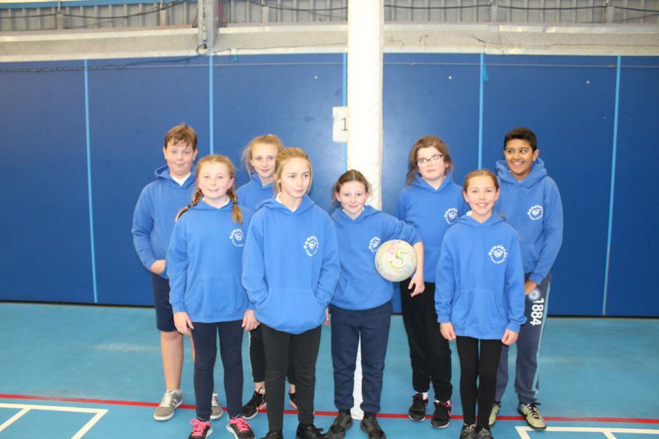 Homelands Primary School - Netball Team