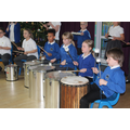 Samba Drumming Club in action.