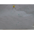 Aleksandra has been busy drawing and writing at home. Thank you for our pictures!