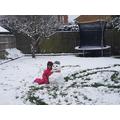 Tharuli's Snowman