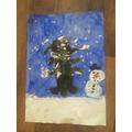 Luca's Fantastic Winter Art