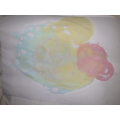 Kyra's fantastic bubble picture.