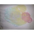 Kyra's fantastic bubble picture.