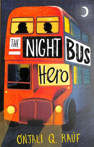 Year 5 are reading the Night Bus Hero