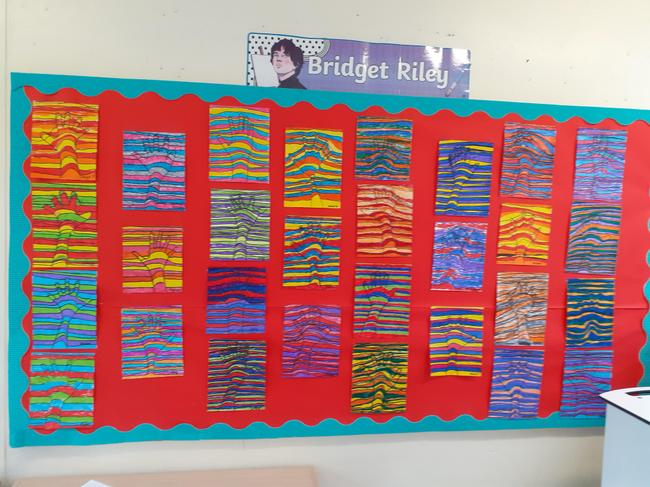 Year 3 - Bridget Riley