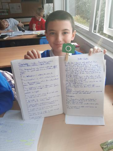 All about Earth. We learnt so much and wanted to share.
