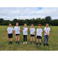 Year 5's three best performing girls and boys in today's interschool competition!