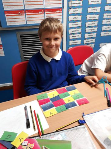 Proud as punch of his problem solving
