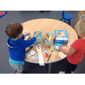 Learning about glue, materials and position.