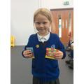 Reading prize winner!