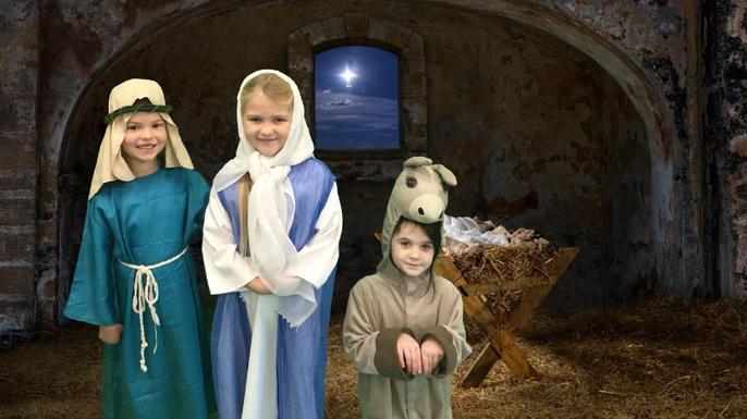 Year 2 Nativity photo