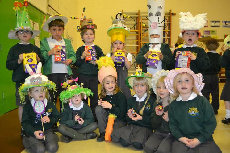 Prizes for the Easter Hat Parade