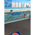 Creating a bright, welcoming classroom.