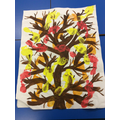 The Burning Bush created by Year 2.