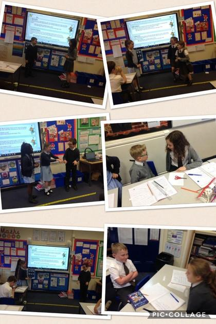 Today, we were presented with different situations where we had to negotiate a compromis