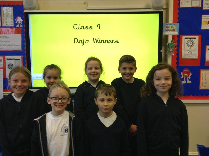Well done to the yellow team this week! You have worked very hard!