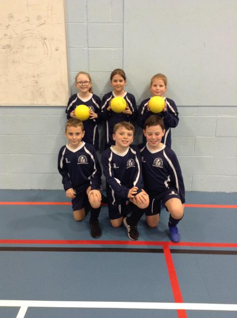Year 3 and 4 dodgeball