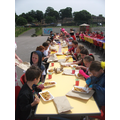 KS2 Street Party Lunch