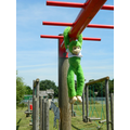 CAN YOU SWING ACROSS THE MONKEY BARS TO SAVE HIM?